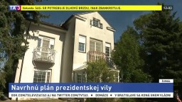 Prezidentská vila chátra, študenti sa ju pokúsia obnoviť
