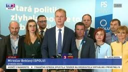 TB predstaviteľov strany SPOLU po skončení snemu