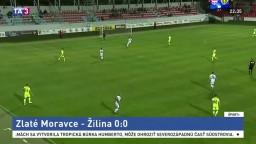 Žilina so Zlatými Moravcami bez gólu, neskóroval ani líder