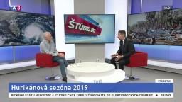 ŠTÚDIO TA3: Humanitárny expert OSN D. Zupka o hurikánovej sezóne 2019