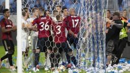 Fanúšikovia na Tehelnom poli napadli hráča, čaká ich tvrdý trest