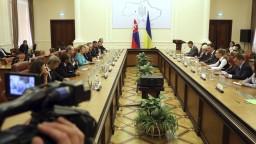 Čaputovú prijal ukrajinský premiér, hovorili o korupcii i pašeráctve