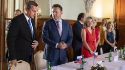 Spoločný hlas je silnejší, vyhlásil Danko na návšteve Česka