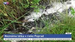 Do rieky vytekala neznáma látka, hasiči znečisťovanie zastavili
