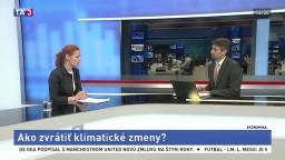 ŠTÚDIO TA3: Ekonomická radkyňa L. Vašáková o klimatických zmenách