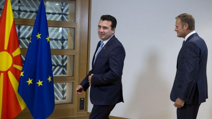 Podmienky splnili. Podľa Tuska sú Macedónci pripravení do EÚ