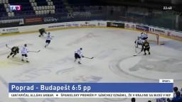 Kamzíci si pripísali prvé víťazstvo v sezóne, zdolali Budapešť