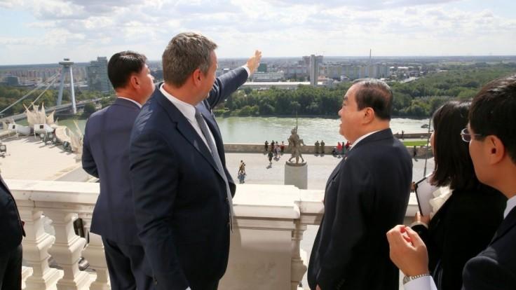 Danko sa stretol so šéfom kórejského parlamentu, hovorili o spolupráci