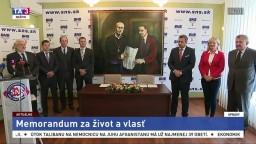 TB zástupcov SNS a KDŽP k podpisu Memoranda za život a vlasť