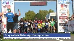 Na 1. ročníku Behu Agrokomplexom sa zúčastnili stovky bežcov