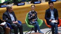 Greta na pôde OSN: Mladí ľudia sú jednotní a nezastaviteľní