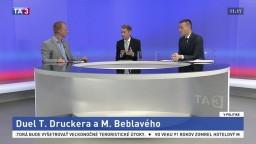 Duel Beblavého a Druckera: Vedia si predstaviť spoluprácu?