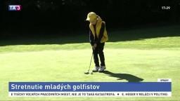 Nádejné golfové talenty si zmerali sily na turnaji juniorov