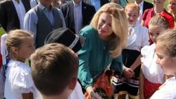 V New Jersey znela slovenčina, krajanov navštívila prezidentka
