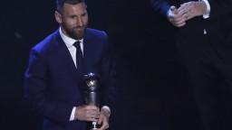 Najlepším hráčom roka sa stal Messi, vyhral už šiestykrát