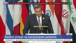 Dankov prejav na eurázijskom summite