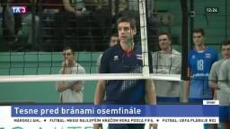Slovenskí volejbalisti skončili tesne pred bránami osemfinále