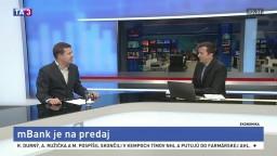 Odborník na financie Ľ. Kačalka o predaji mBanky
