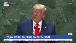 Prejav Donalda Trumpa na Valnom zhromaždení OSN