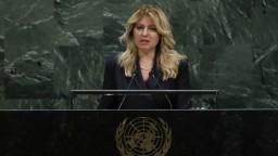 Čaputová vystúpila v OSN: Klimatická zmena je fakt, čas sa kráti