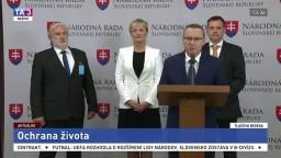 TB T. Bernaťáka, E. Smolíkovej, T. Tarabu a E. Zbiňovského o ochrane života