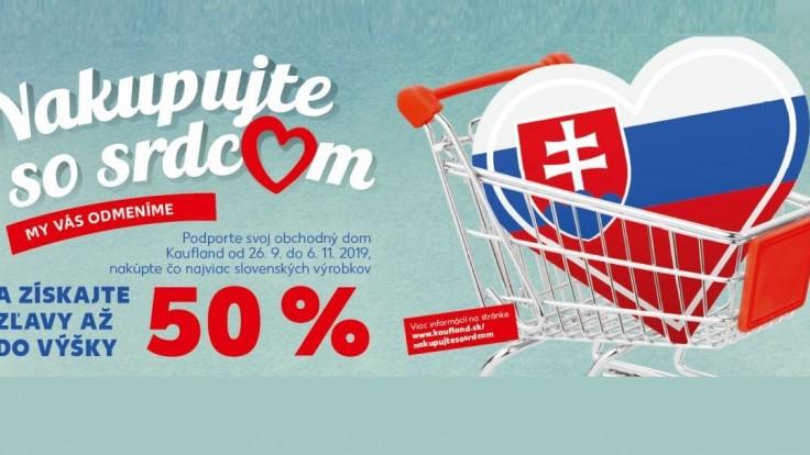 Kaufland odmení zákazníkov predajní, kde sa nakupuje najviac slovenských výrobkov