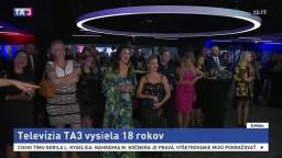Televízia TA3 mala dôvod na oslavu, správy prináša už 18 rokov