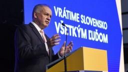 Slovensko podľa Kisku premrhalo úspešné obdobie. Viní vládu