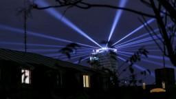 Fotogaléria: Biela noc ponúkla vzdušný tanec aj svetelnú šou