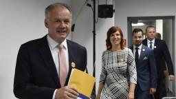 Smeru stačí povedať jasné nie, odkázal Kiska opozičným stranám