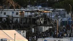 Po požiari v tábore chce Grécko vrátiť tisíce migrantov do Turecka