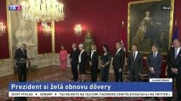 Po voľbách podala prezidentovi rakúska úradnícka vláda demisiu
