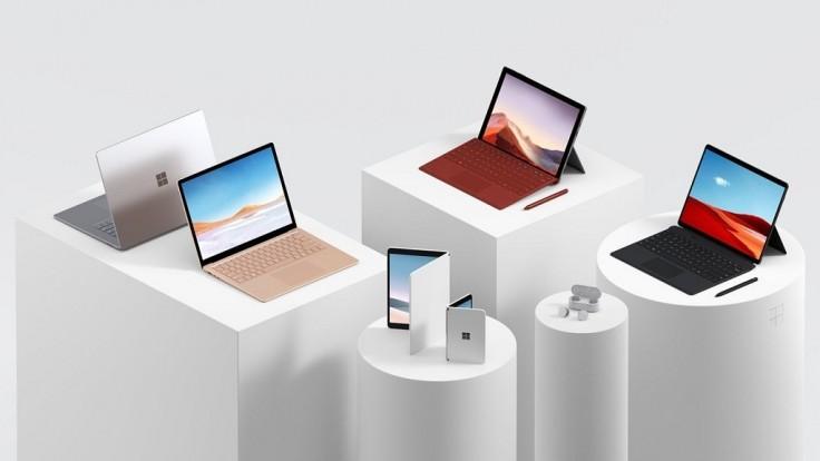 Medzi nové zariadenia Surface patrí aj tablet a smartfón s dvomi displejmi