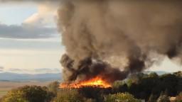 Požiar kaštieľa v Ožďanoch lokalizovali, pamiatke zhorela strecha