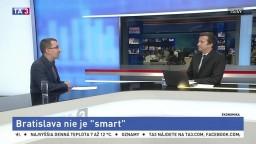 """HOSŤ V ŠTÚDIU: M. Reguli o tom, prečo Bratislava nie je """"smart"""""""