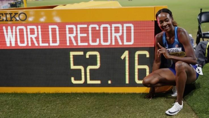 Nový svetový rekord. Muhammadová prekonala vlastné maximum