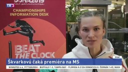 Škvarková sa chce na MS v Dauhe priblížiť k osobnému rekordu