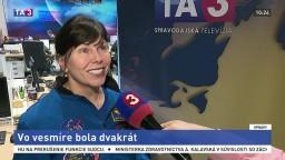 Astronautka M. E. Weber o práci v NASA a pobyte vo vesmíre