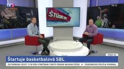 ŠTÚDIO TA3: P. Mičuda o štarte basketbalovej SBL