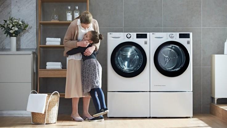 LG prináša novú práčku s optimálnym praním a technológiou AI DD