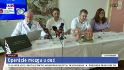TB neurochirurgov J. Šteňa, A. Šteňa a M. Novotného o operácii mozgu u detí