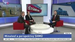 ŠTÚDIO TA3: M. Rieder a M. Benko o minulosti a perspektívach SHMÚ