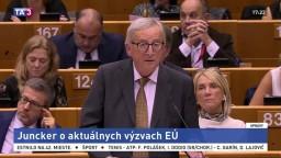 Prejav J.-C. Junckera o aktuálnych výzvach EÚ