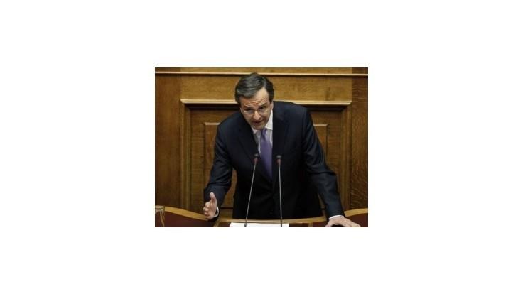 Grécky premiér: Krajina zažíva veľkú hospodársku krízu