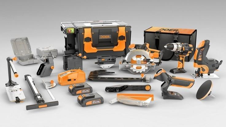 Kompaktný kufor na náradie Doer pojme až 12 rôznych nástrojov
