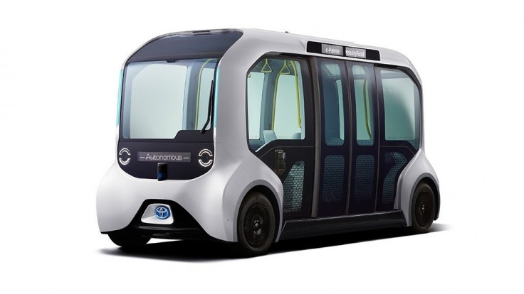 Autonómny modul Toyota prepraví športovcov na OH v Tokiu