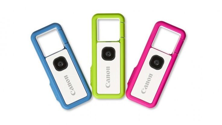 Canon vydáva mini outdoorovú kameru zabudovanú v karabíne