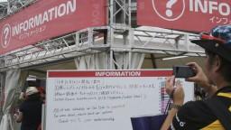 Tajfún komplikuje dianie v Japonsku, rušia športové podujatia