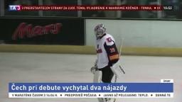 Brankár Čech vymenil trávnik za ľad, na konte má prvé víťazstvo
