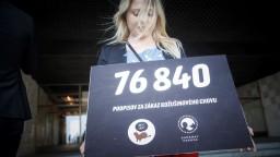 Chcú zákaz kožušinového chovu. Aktivisti odovzdali podpisy